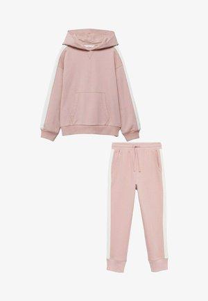 2 PACK - Pantalon de survêtement - bleekroze