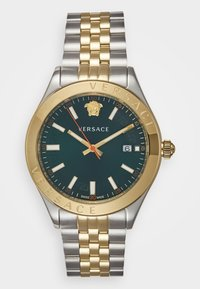 Versace Watches - HELLENYIUM - Watch - green/silver-coloured - 0