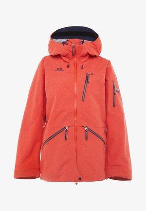 BACKSIDE JACKET - Chaqueta de esquí - red glow