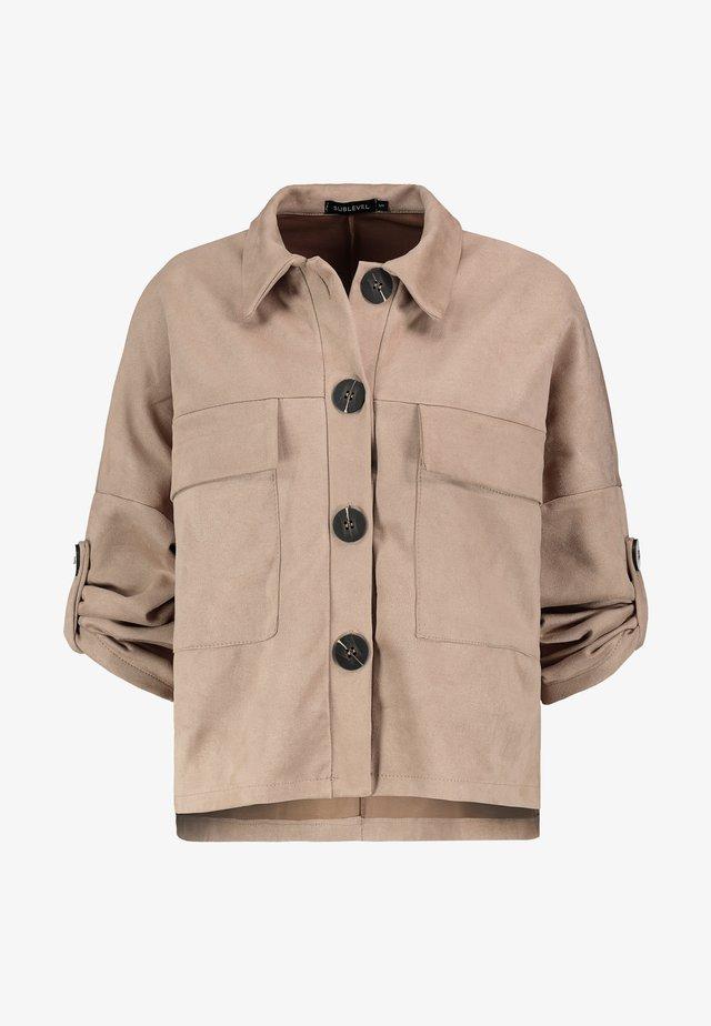 Summer jacket - light-beige