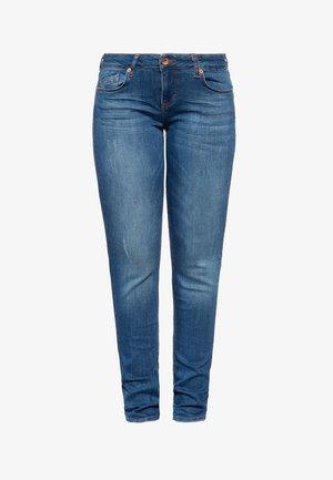 MIT LEGEREN WASCHUNGEN BELINDA - Slim fit jeans - dunkelblau