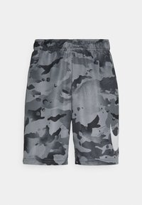Nike Performance - DRY SHORT CAMO - Korte broeken - black/grey fog - 3