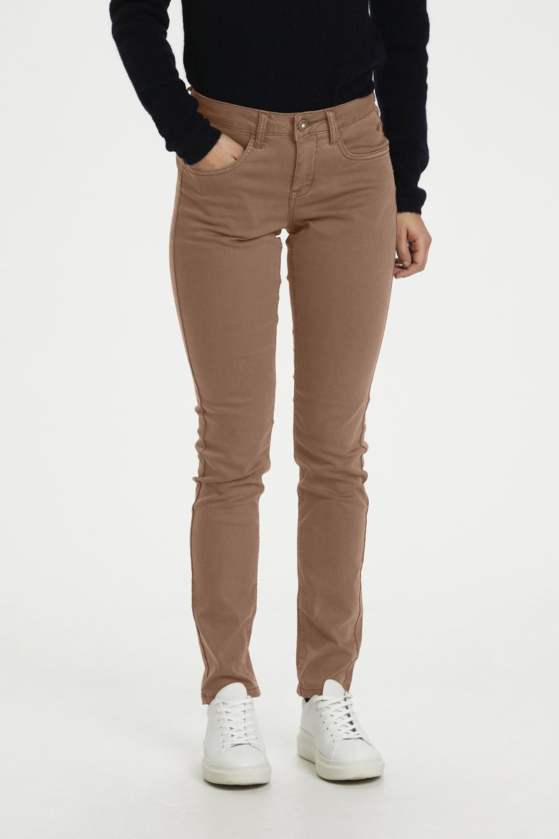 Cream - Jeans Slim Fit - brown