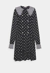 LUMIA 2-IN-1 - Day dress - black/white