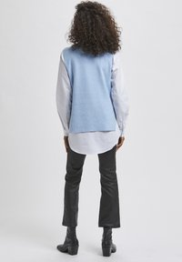 Kaffe - Top - chambray blue melange - 2