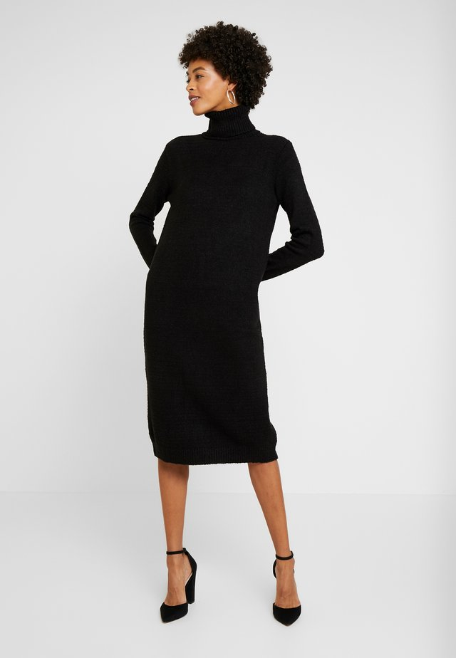 VESTIDO MANGA LONGA - Jumper dress - preto reativo