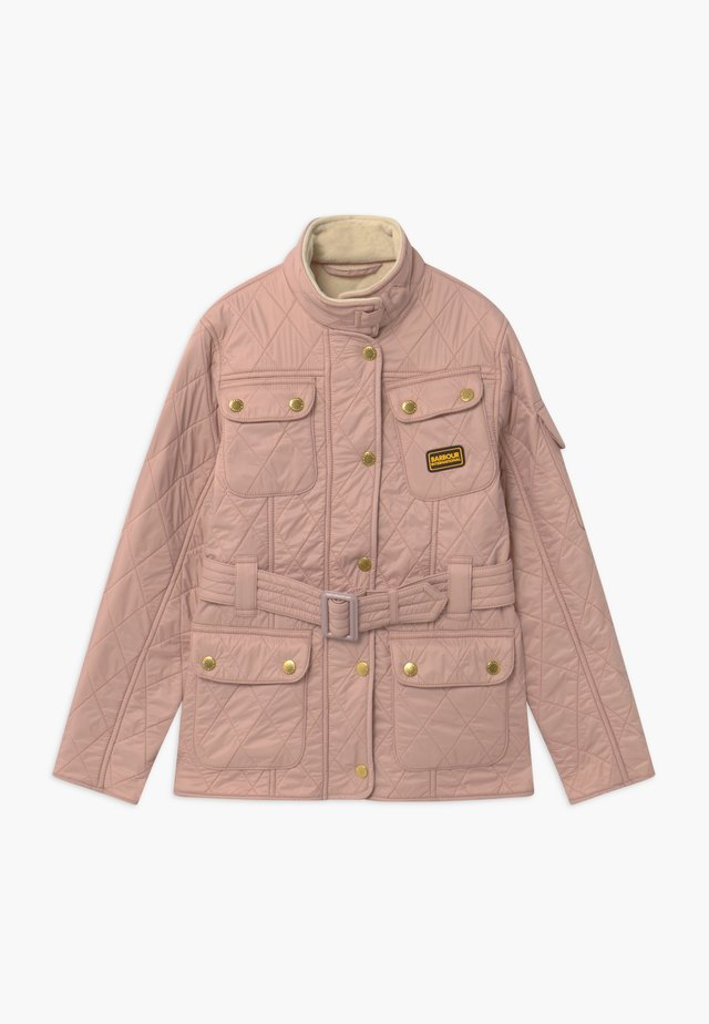 GIRLS INTERNATIONAL POLARQUILT - Light jacket - rose quartz