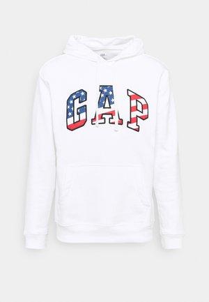 V FLAG  - Sweatshirt - white