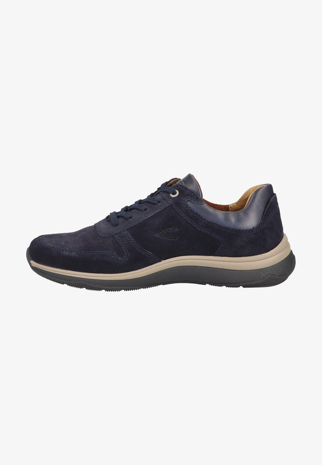 Sporty snøresko - navy blue