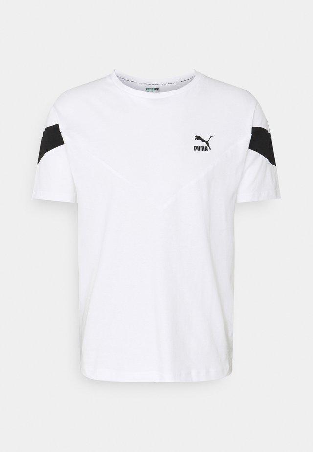 ICONIC TEE - T-shirt imprimé - white