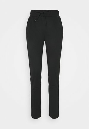 ONPNYLAH SLIM PANTS - Tracksuit bottoms - black/white