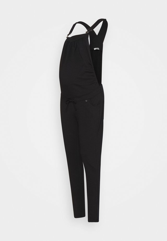 SALOPETTE DUNGAREE - Tuinbroek - black