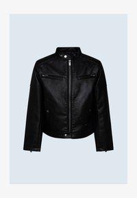 Pepe Jeans - Faux leather jacket - black - 0