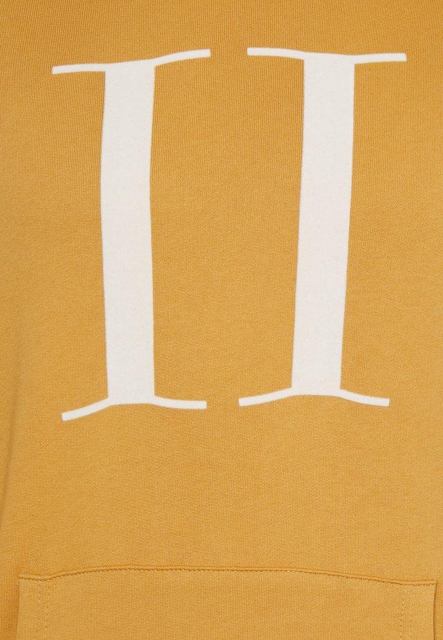 ENCORE HOODIE - Hoodie - spruce yellow/off white