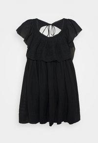 Free People - HAILEY MINI DRESS - Day dress - black - 5