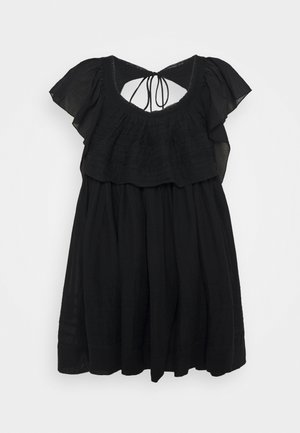 HAILEY MINI DRESS - Day dress - black