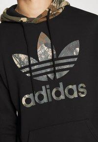 adidas Originals - CAMO BLOCK - Hoodie - black - 6
