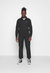 Dickies - OAKPORT QUARTER ZIP - Sweatshirt - black - 1