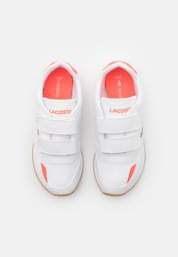 Lacoste - PARTNER UNISEX - Trainers - white/pink - 3