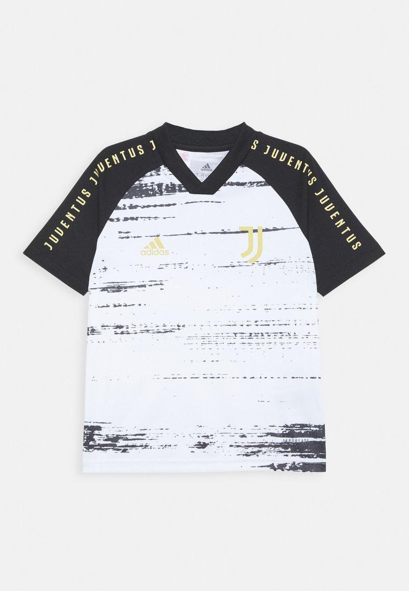 adidas Performance - JUVENTUS AEROREADY SPORTS FOOTBALL UNISEX - Klubové oblečení - white/black