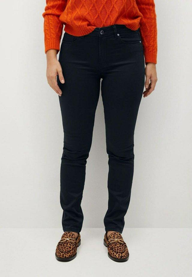 VALENTIN - Straight leg jeans - black denim