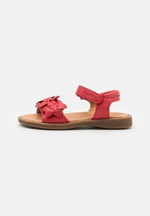 LORE FLOWERS - Riemensandalette - red