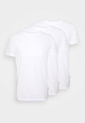 3 PACK - T-paita - white