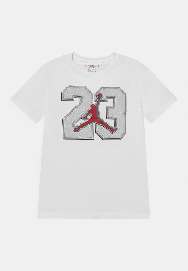 23 GAME TIME  - T-shirt con stampa - white