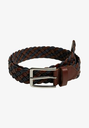 MIX - Braided belt - blue