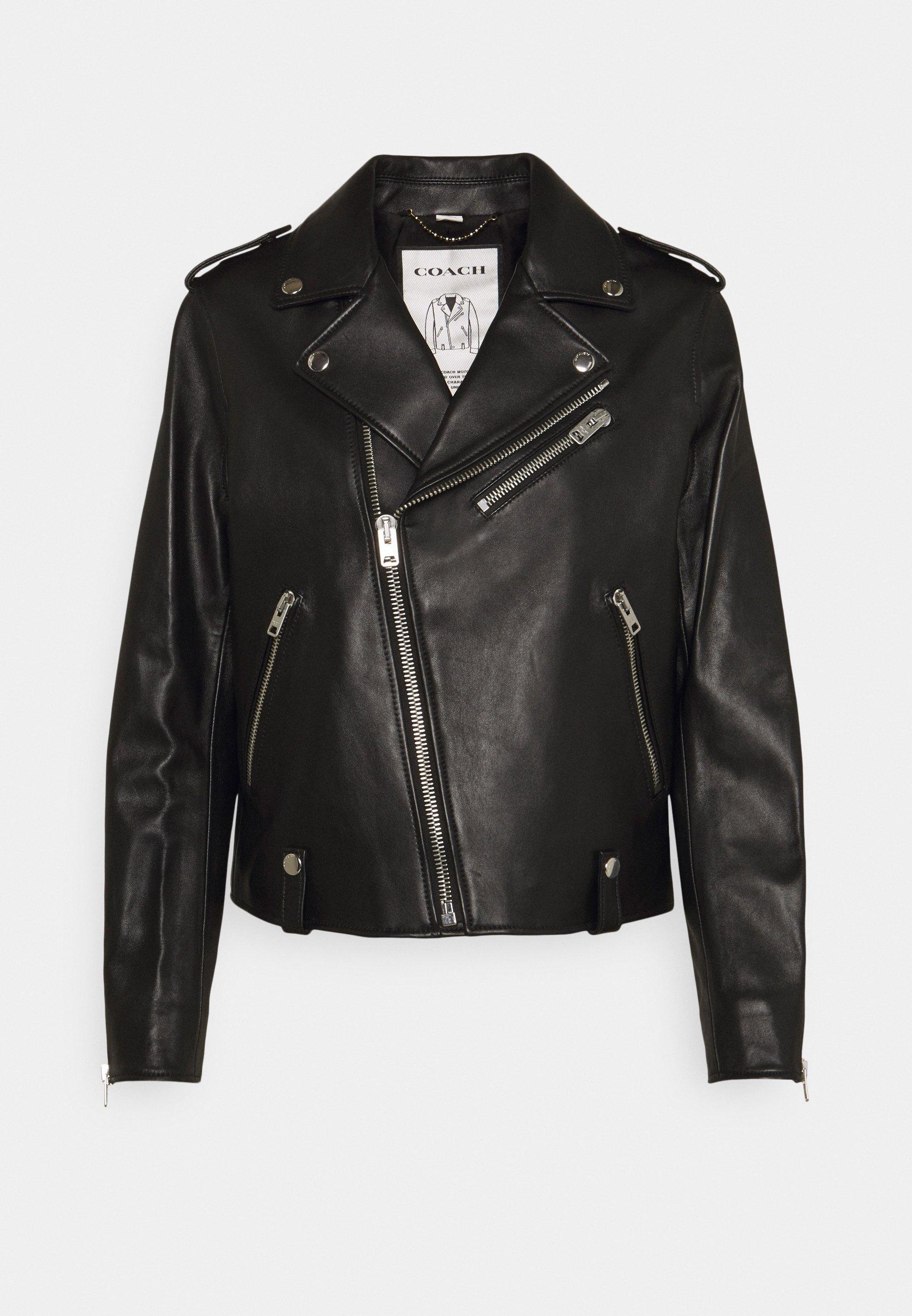 Women ICON MOTO - Leather jacket