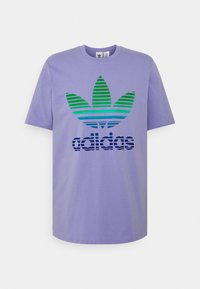 TREF OMBRE UNISEX - T-shirt print - light purple