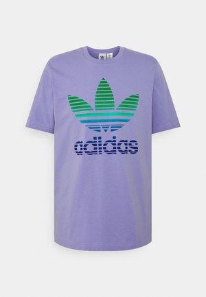 TREF OMBRE UNISEX - T-shirt con stampa - light purple