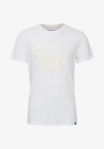 DAVIS - Print T-shirt - bright white