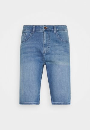 LODGER - Denim shorts - bleached used