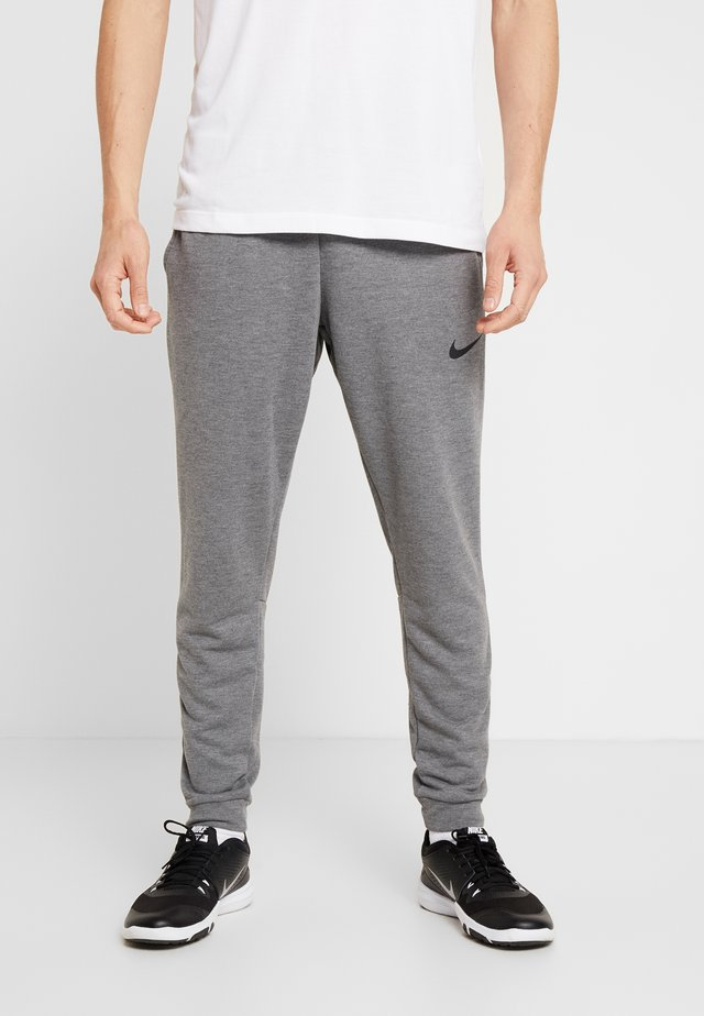 DRY PANT TAPER - Pantalones deportivos - charcoal heathr/black