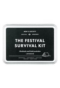 Men's Society - FESTIVAL SURVIVAL KIT - Huidverzorgingsset - - - 1
