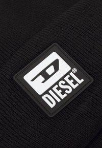 Diesel - K-XAU CAP UNISEX - Čepice - black - 2