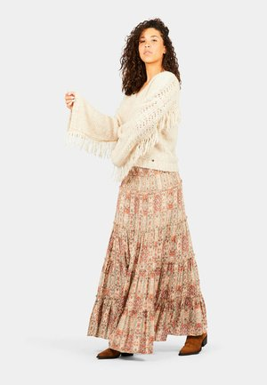 Maxi skirt - etruscan colors