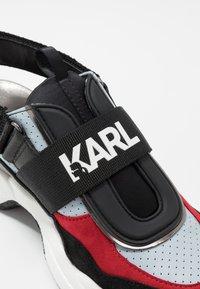 KARL LAGERFELD - SHUTTLE SLINGBACK - Sneakersy niskie - blue - 2