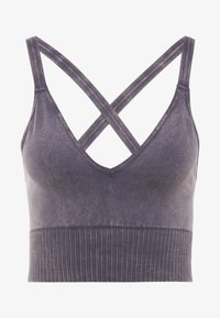 Free People - FP MOVEMENT GOOD KARMA CROP - Light support sports bra - graphite - 4