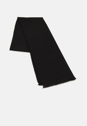 EXTRA FINE PLAIN SCARF UNISEX - Šála - black