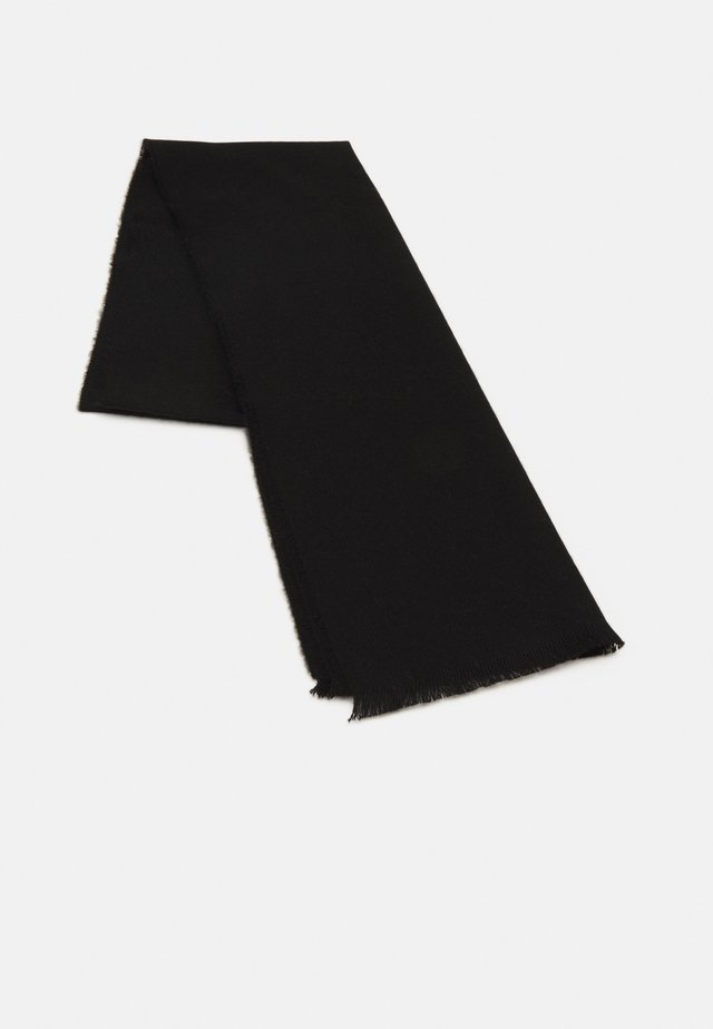 EXTRA FINE PLAIN SCARF UNISEX - Écharpe - black