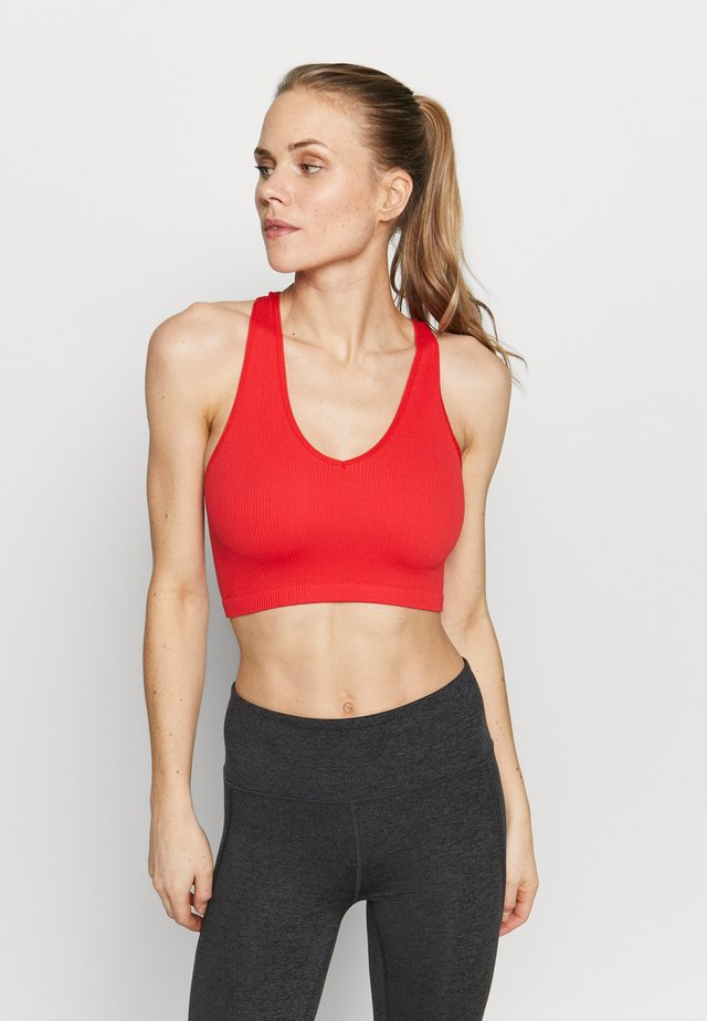 FREE THROW CROP - Sports-BH - red