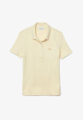 Polo shirt - beige / weiß