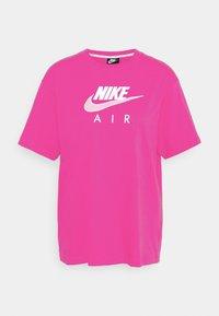 AIR  - T-shirt imprimé - fireberry/white