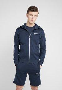 BOSS - SAGGY WIN - Zip-up hoodie - blue/silver - 0