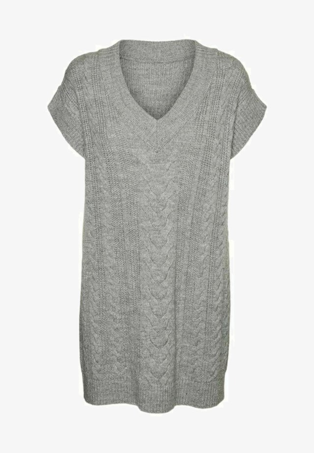 Sweter - light grey melange