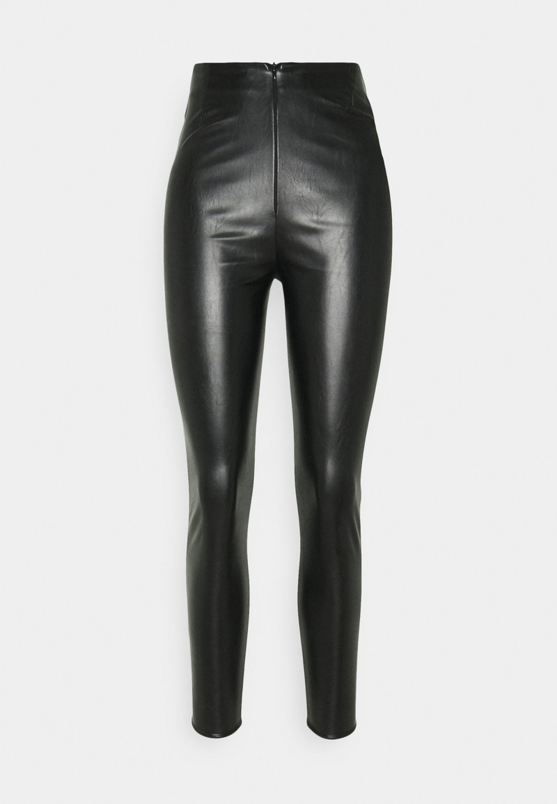 Missguided - PANNELLED TROUSERS - Legging - black