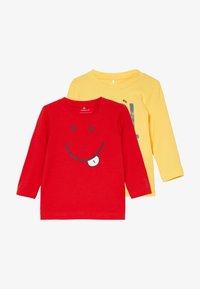 Name it - NBMDECOOL 2 PACK - T-shirt à manches longues - aspen gold - 3