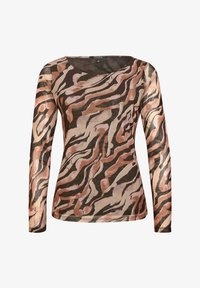 comma - Long sleeved top - black zebra lines - 5